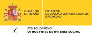 Ministerio de Sanidad, Serivicios sociales e Igualdad.
